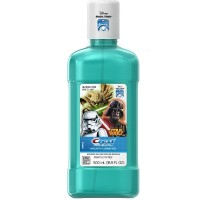 Crest Pro-Health Disney Star Wars Anti-Cavity Fluoride Rinse for Kids, Breezy Mint 16.90 oz [037000919605]