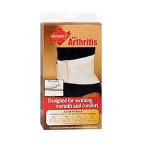 Sport Aid Back Support Arthritis Designed for Soothing, Warmth and Support, Beige, Large, 1 ea [763189194990]