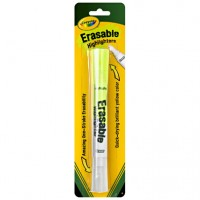 Crayola Erasable Highlighter 1 ea [071662060992]