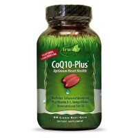 Irwin Naturals COQ10-Plus Optimum Heart Health Supplement Softgels 60 ea [710363585785]