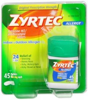 Zyrtec Allergy 10 mg Tablets 45 Tablets [350580726389]