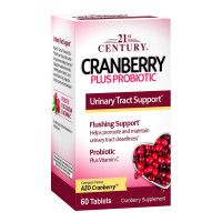 21st Century Cranberry Plus Probiotic Tablets, 60 ea [740985278482]