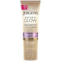Jergens Natural Glow 3 Days to Glow Moisturizer, Fair to Medium 4 oz [019100183216]