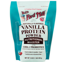 Bob's Red Mill Vanilla Protein Powder Nutritional Booster 16 oz [039978003461]