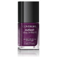 CoverGirl Outlast Stay Brilliant Nail Gloss, Fuchsia Flame 0.37 oz [046200001805]