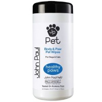 John Paul Pet Body & Paw Pet Wipes 45 ea [876065100012]