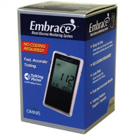 Embrace Omnis Blood Glucose Monitoring System 1 Ea