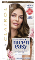 CLAIROL Nice 'n Easy Permanent Color, 6/116 Natural Light Brown 1 ea [381519000270]