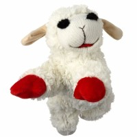 Multipet International Lamb Chop Dog Toy 1 ea [784369483758]