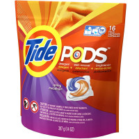 Tide Pods Laundry Detergent, Spring Meadow Scent 16 ea [037000509547]