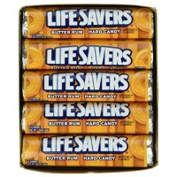 Lifesavers Butter Rum Candy 20 pack (14 ct per pack)  [019000080691]