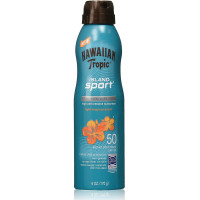 Hawaiian Tropic Island Sport Ultra Light High Performance Sunscreen, Light Tropical Scent SPF 50 6 oz [075486091149]