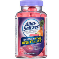 Alka-Seltzer Heartburn + Gas Relief Chews Chewable Tablets, Tropical Punch 54 ea [016500557975]