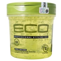 ECO Styler Professional Styling Gel, Olive Oil, Max Hold 10, 16 oz [748378001112]