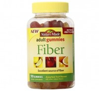 Nature Made Fiber Adult Gummies, Assorted Fruit 90 ea [031604029524]