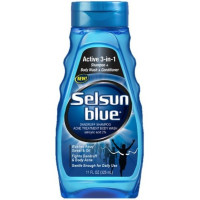 Selsun Blue 3-in-1 Shampoo + Body Wash + Conditioner, 11 oz 1 ea [041167615201]