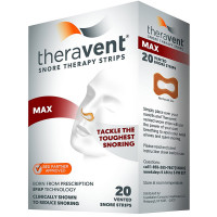 Theravent Snore Therapy Quiet Nights Flexible Seal Strips, Regular 20 ea [858076006019]
