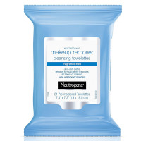 Neutrogena Make-Up Remover  Cleansing Towelettes Fragrance-Free 21 ea [086800438816]