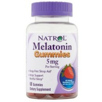 Natrol Melatonin Gummies Mixed Berry 60 ea [047469063986]