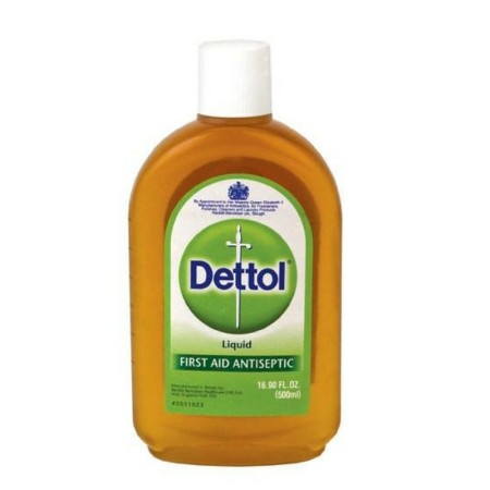 Dettol Liquid First Aid Antiseptic 16.9 oz  [012496000433]