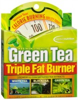 Green Tea Triple Fat Burner Liquid Soft-Gels 30 Soft Gels [710363568450]