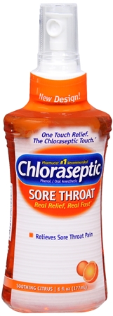 Chloraseptic Sore Throat Spray Soothing Citrus 6 oz [678112012558]