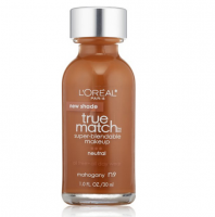 L'Oreal Paris True Match Super Blendable Makeup, Mahogany [N9] 1 oz [071249220344]