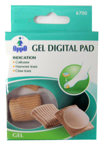 Oppo Gel Digital Pad, Small [6700] 2 Pack [4711769147672]