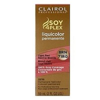 Clairol Professional Liquicolor 8RN/71RG Light Red Neutral Blonde 2 oz [381519049019]
