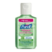 Purell Advanced Hand Sanitizer Refreshing Aloe 2 oz  [073852009385]