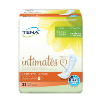 Tena Intimates Ultimate Incontinence Pad for Women, 33 Count [768702543057]