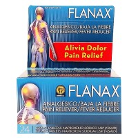 Flanax Pain Reliever/Fever Reducer Tablets, 220mg 24 ea [853030002106]