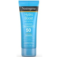 Neutrogena Hydro Boost Gel Moisturizing Sunscreen Lotion with Broad Spectrum & Water-Resistant, SPF 50 3 oz [070501113424]