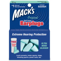 Mack's Ultra Soft Foam Earplugs 10 Pairs [033732000925]