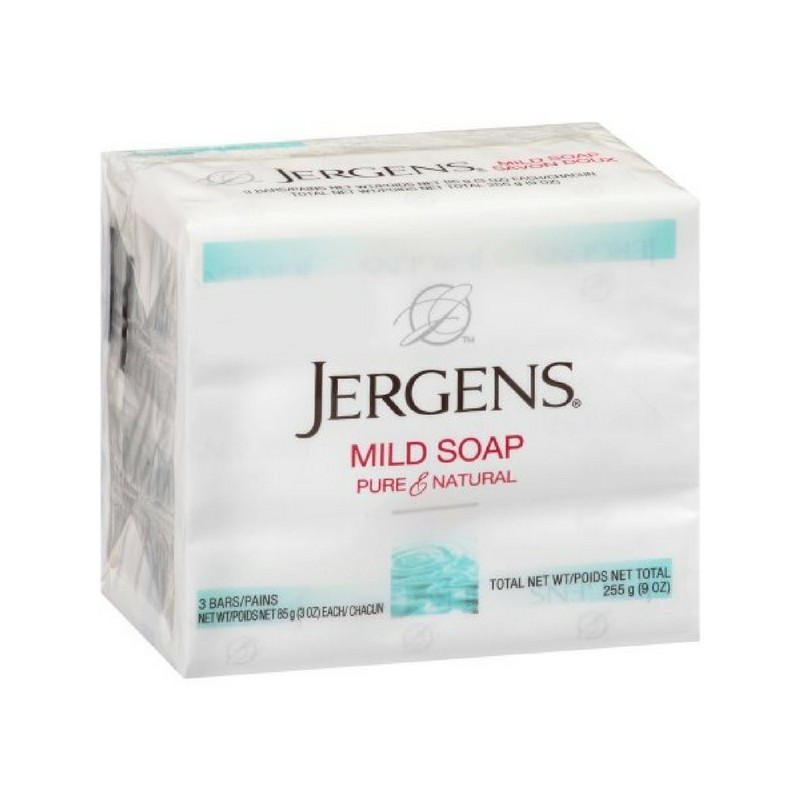 Jergens Mild Soap Pharmapacks