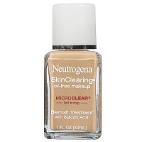 Neutrogena SkinClearing Oil-Free Liquid Makeup, Nude [40] 1 oz [086800003977]