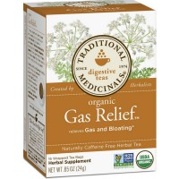 Traditional Medicinals Organic Tea Bags, Gas Relief 16 ea [032917002211]