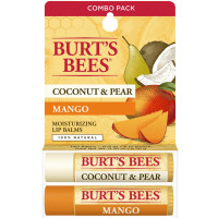 Burt's Bees 100% Natural Moisturizing Lip Balm, Coconut & Pear and Mango 1 ea [792850025776]