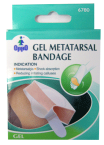 Oppo Gel Metatarsal Bandage, One Size Fits All [6780] 1 Pack [4711769145852]