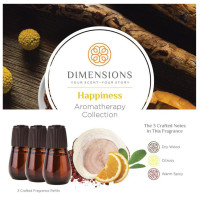 Dimensions Aromatherapy Happiness Collection Refills - 3 Refills for up to 4 Months of Brilliant Fragrance 1 ea [691039107824]