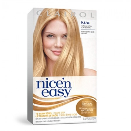 Nice 'n Easy Permanent Color, 9.5/98 Natural Extra Light Neutral Blonde 1 ea [381519900020]