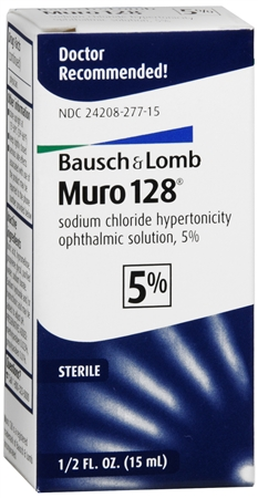 Bausch & Lomb Muro 128 Solution 5% 15 mL [324208277157]