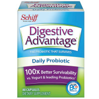Digestive Advantage Daily Probiotic - Survives Better Than 50 Billion Capsules 80 ea [020525959843]