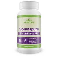 Peak Life Somnapure Natural Sleep Aid Tablets 30 ea [852496002118]