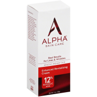 Alpha Hydrox Skin Care Enhanced Revitalizing Cream 12% Glycolic AHA 2 oz [735379151427]