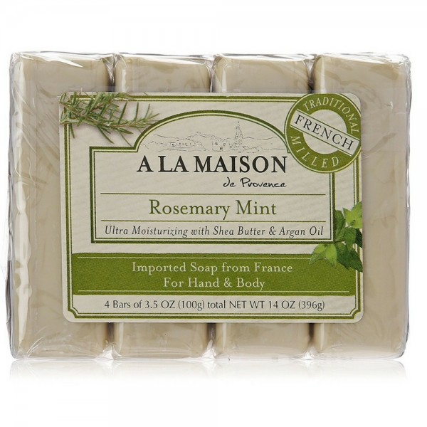 A la maison bar soap 3 5 oz bars rosemary mint 4 ea for A la maison soap review