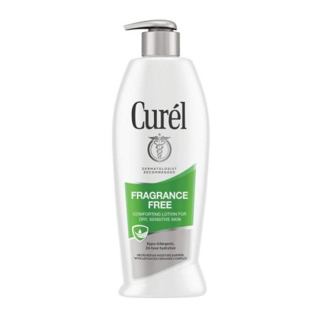 Curel Daily Moisture Fragrance-Free Lotion For Dry Skin 13 oz [019045105465]