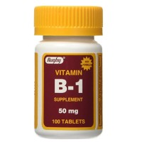 Rugby Vitamin B-1 Tablets 50 Mg 100 ea [005364678018]