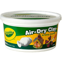 Crayola 2.5lb Bucket Air-Dry Clay [071662550509]