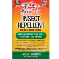 BugBand Insect Repelling Lotion Towelette 2 ea [786216885012]
